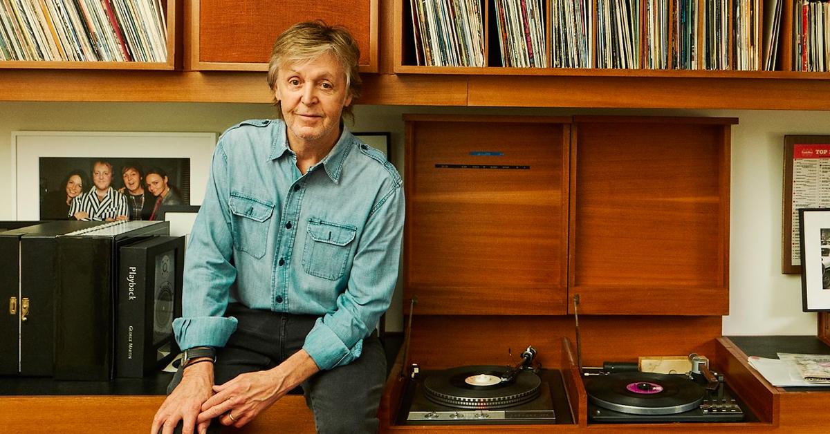 Paul McCartney anuncia reedición de su álbum 'Flaming Pie'